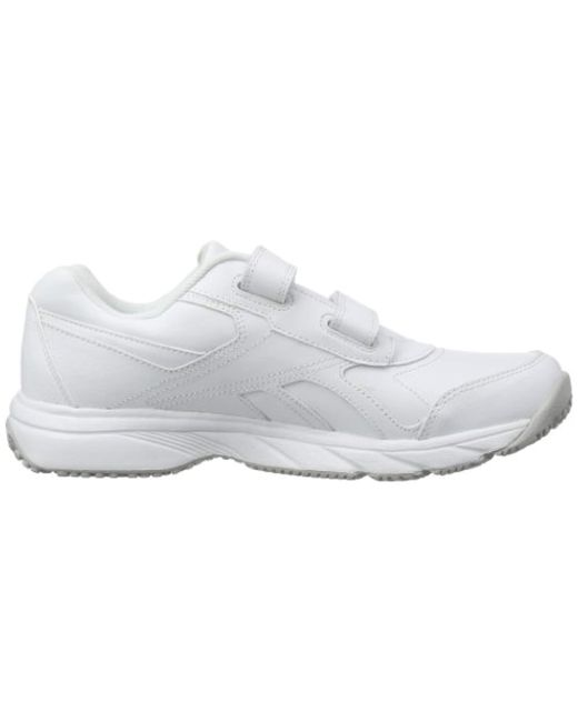 Reebok Work 'n Cushion Kc Track & Field Shoes in White for