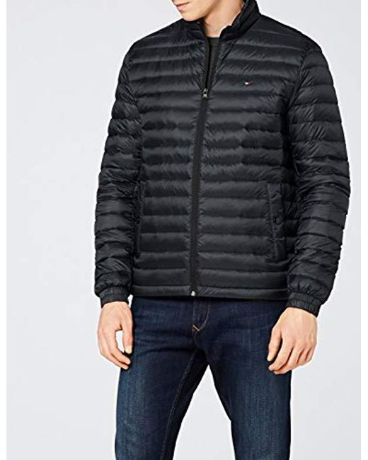 para hombre Black Hilfiger Tommy bomber abajo Packable Lyst Core Lw chaqueta 81nCqzw
