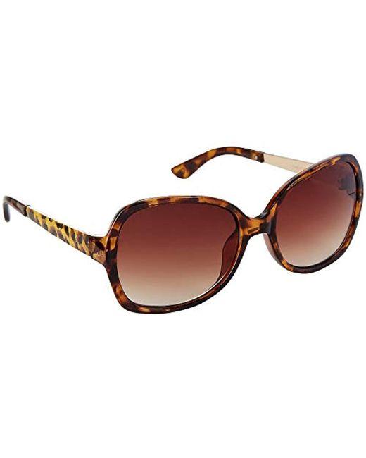 Betsey Johnson Multicolor Robyn Square Bj863136 Square Sunglasses