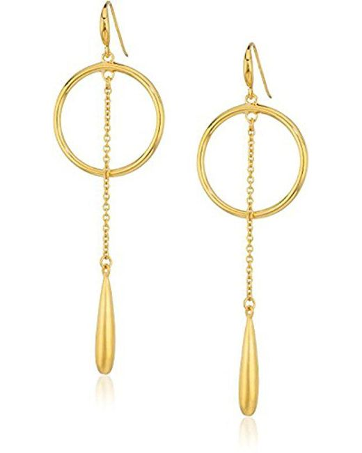 Trina Turk Teardrop Hoop Earrings T8k1al