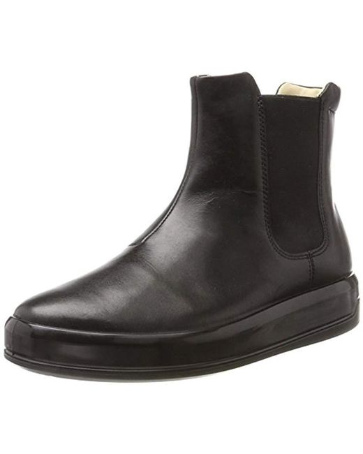 Ecco - Black Soft 9 Hi-top Trainers - Lyst