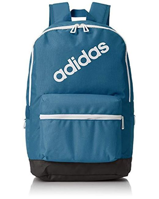 ded21231e63b Adidas - Blue Bp Daily Backpack for Men - Lyst ...