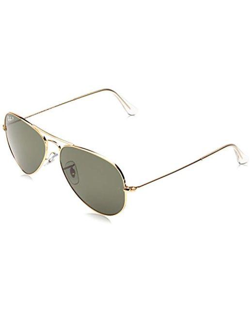 acd65ed077 Ray-Ban - Metallic Aviator Large Metal, Gafas de sol para Hombre for Men ...