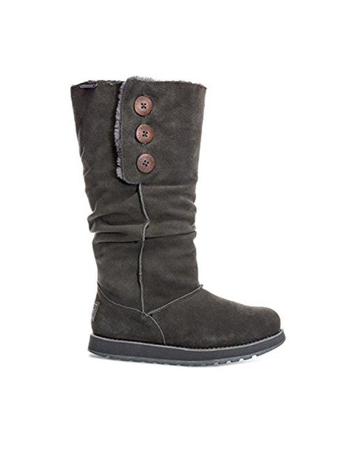 Skechers - Gray Keepsakes-brrrr Boot - Lyst