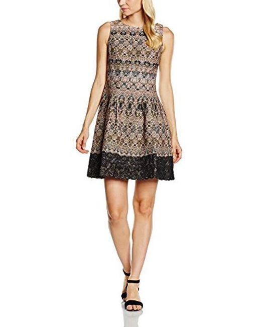 Great Plains - Black Tea Lights Dress - Lyst