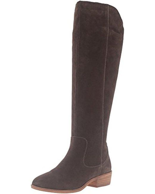 Steven by Steve Madden - Brown Emmery Western Boot - Lyst