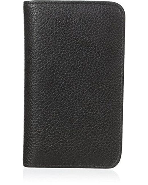 Buxton - Black Snap Card Case - Lyst