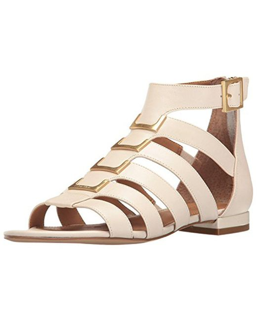 CALVIN KLEIN 205W39NYC - Natural Estes Gladiator Sandal - Lyst
