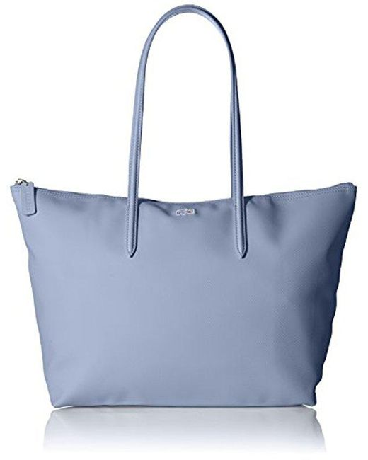 Lacoste - Blue L.12.12 Concept Large Shopping Bag - Lyst