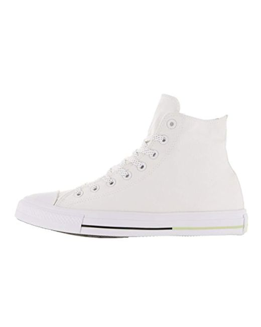 e993499d7585 ... Converse - White Chuck Taylor All Star Leather High Top Sneaker for Men  - Lyst ...