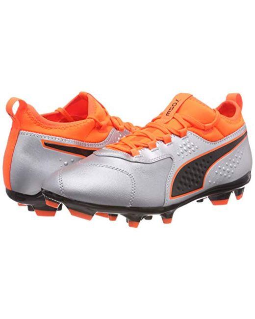 83176e672453 PUMA One 3 Lth Tt Footbal Shoes in Orange for Men - Save 13% - Lyst