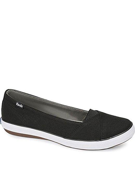 Keds - Black Cali Ii Canvas (navy) Women's Flat Shoes - Lyst