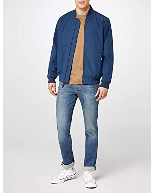 56b31ddd9593 ... Lyst Levi's - Blue Thermore Bomber Jacket for Men ...