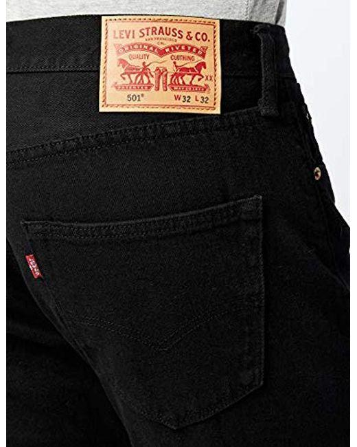 e798de361d9 Levi S 501 Original Fit Jeans In Black For Men Save 9 Lyst