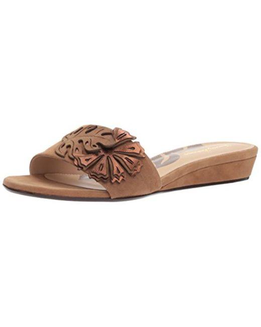 Tommy Bahama - Brown Catarina Floral Slide Sandal - Lyst