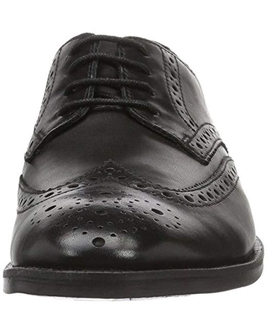 f3fabe2e2842b ... Clarks - Black Broyd Limit Oxfords for Men - Lyst ...