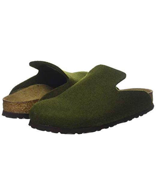 f10b41e45d24d ... Birkenstock - Green Unisex Adults  Davos Open Back Slippers for Men ...