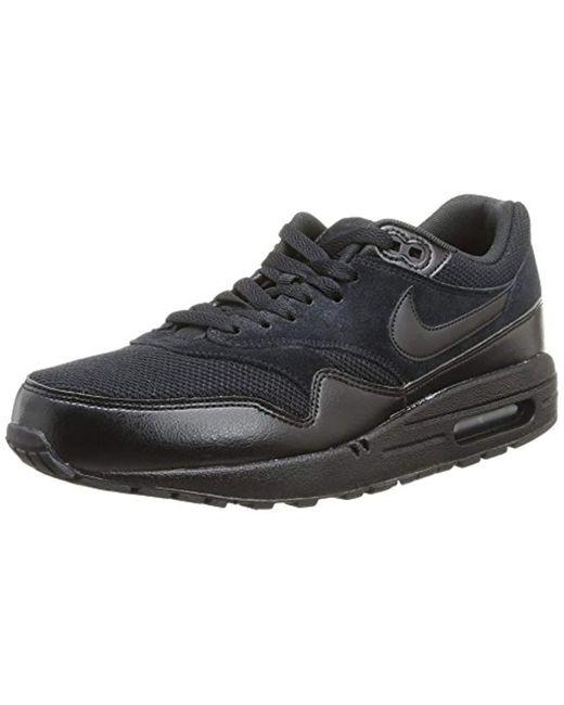 a3d7e7f15b9 Lyst - Nike Air Max 1 Essential Blue black white 537383-022 in Black ...
