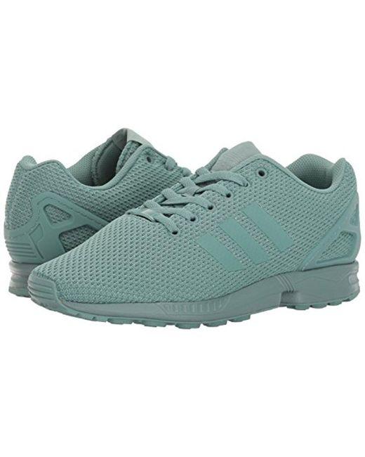 competitive price e34a5 a50fe Men's Green Zx Flux Fashion Sneaker