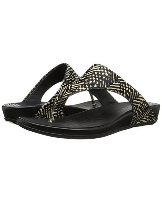 8f7d9f1c13e8 Lyst - Fitflop Banda Pony Flip Flop in Black - Save 39.166666666666664%