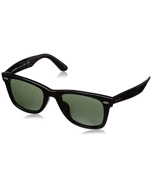 3ab85d807eb Ray-Ban - Black S Original Wayfarer Sunglasses (rb2140) Acetate for Men ...