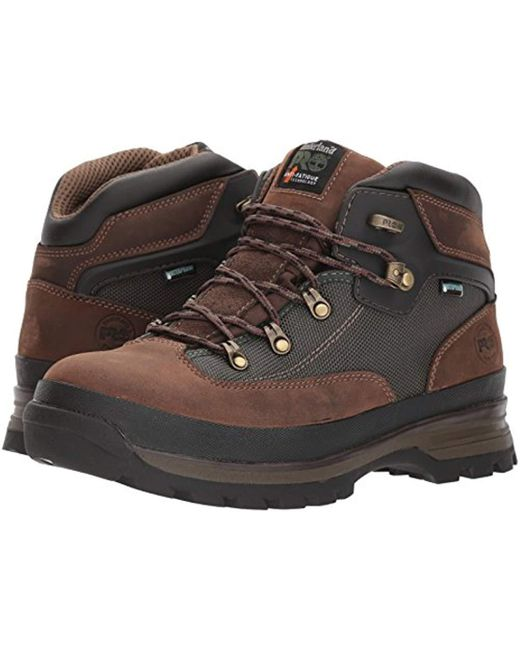 5bffdb70e0b Lyst - Timberland Euro Hiker Industrial Boot in Brown for Men