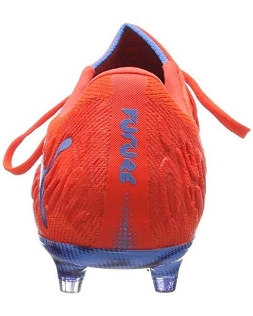 ... PUMA - Red Future 19.1 Netfit Low Fg ag Football Shoes for Men - Lyst  ... f30d96032