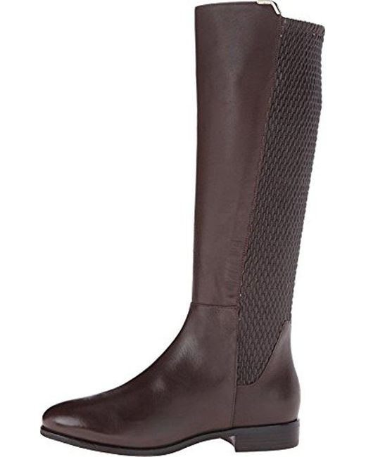 Cole Haan - Brown Rockland Leather Knee-High Boots - Lyst
