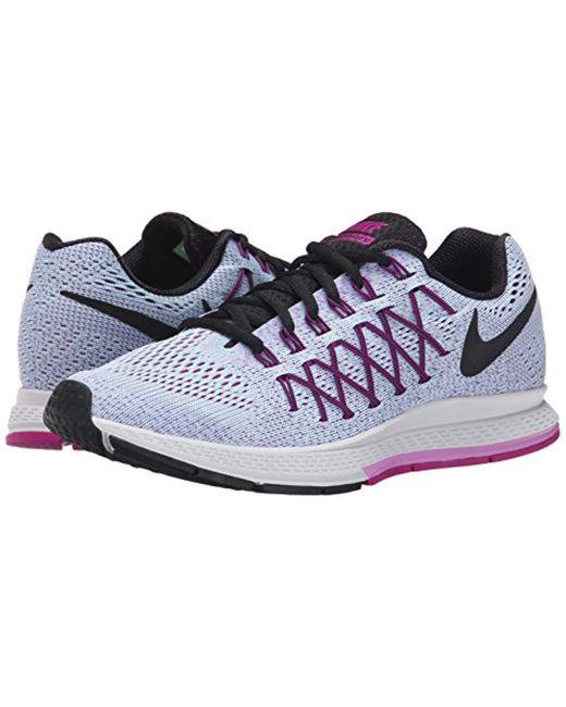 b48977107dd ... Lyst Nike - Blue Air Zoom Pegasus 32