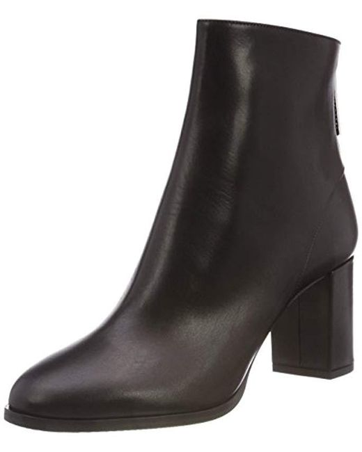HUGO - Black Hoxton Bootie 70-c Ankle Boots - Lyst