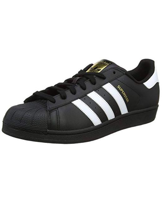 Adidas - Black Originals Superstar Foundation 34e43398f