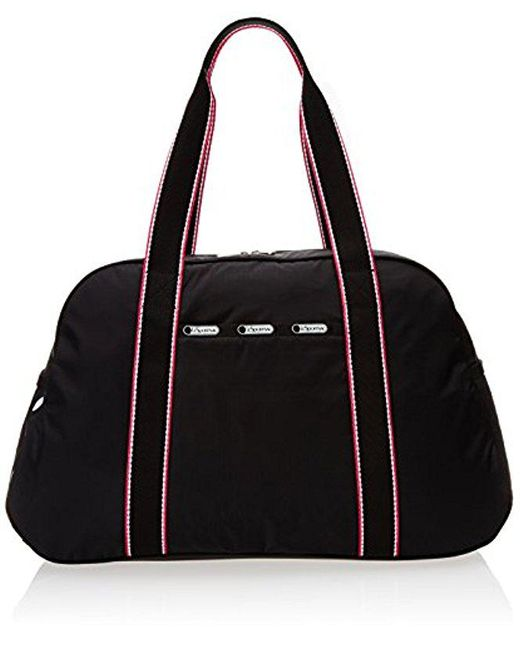 LeSportsac - Black Gym Overnighter Carry On - Lyst