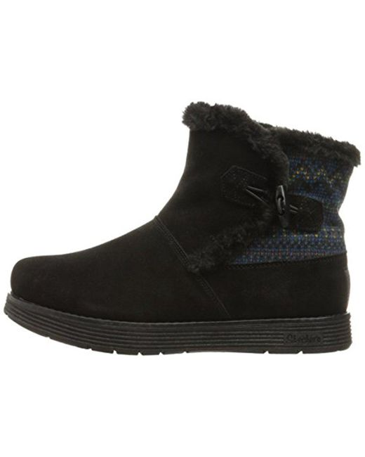 Women's Adorbs-Sweater Trimmed Snow BootBlack11 M US
