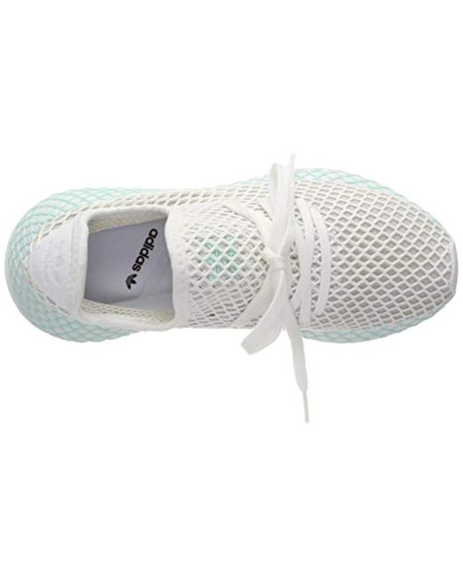 fc2cf1b4cc907 ... Adidas - White Deerupt Runner W Running Shoes - Lyst