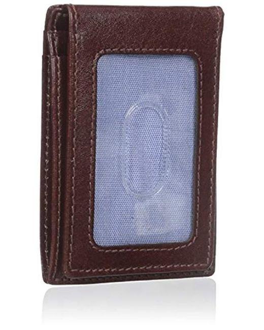 d211154b43 ... Tommy Hilfiger - Multicolor Leather Slim Front Pocket Wallet for Men -  Lyst