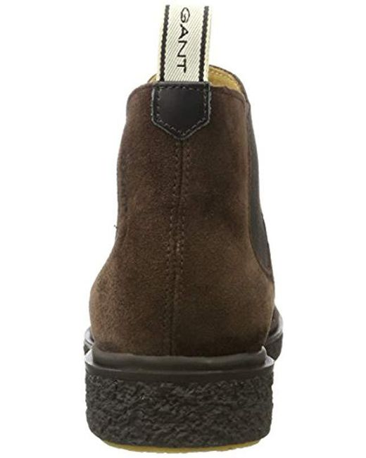 official photos 13795 c33bd gant-Brown-Dark-Brown-Carson-Chelsea-Boots.jpeg