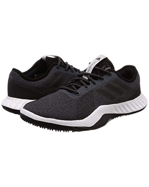 new arrival d2c59 c16ef ... Adidas - Black Crazytrain Lt Fitness Shoes for Men - Lyst ...