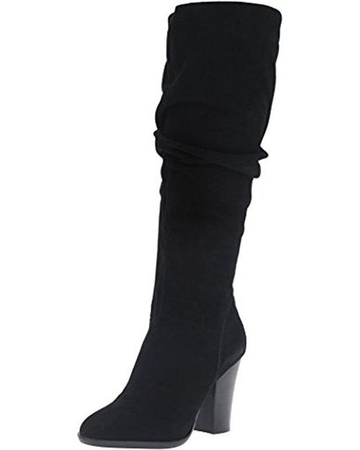 Steve Madden - Black Nevadaaa Slouch Boot - Lyst ...