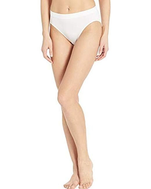 4cfce4155 Lyst - Bali One Smooth U All Over Smoothing Hi Cut Panty in White ...