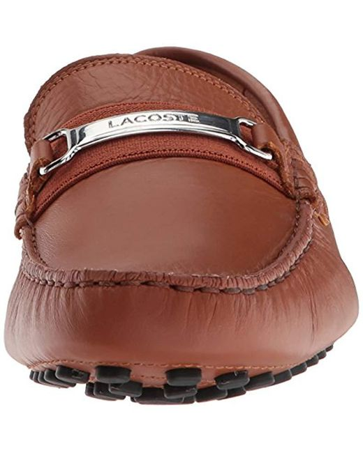 661961c58 ... Lacoste - Brown Ansted 318 1 U Driving Style Loafer for Men - Lyst ...