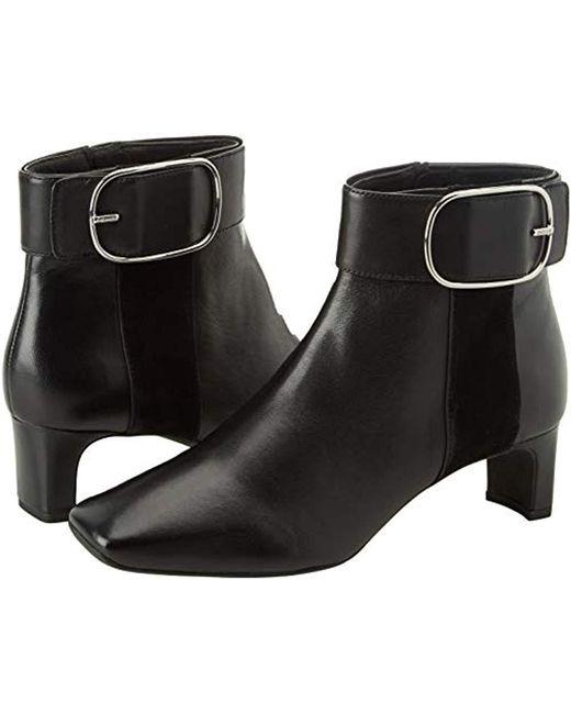 9ff552cfc125a ... Geox - Black D Vivyanne Mid C Ankle Boots - Lyst ...