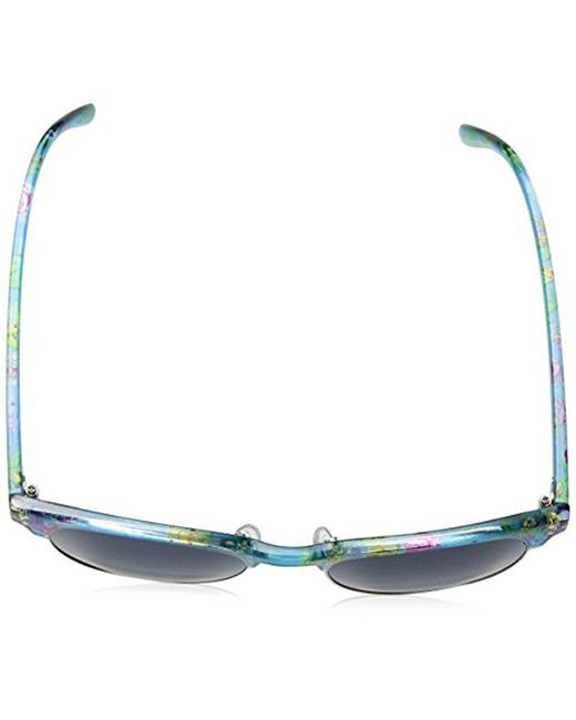 d4c72f24a8 ... Sam Edelman - Blue Union Bay U282 Flsv Round Sunglasses - Lyst
