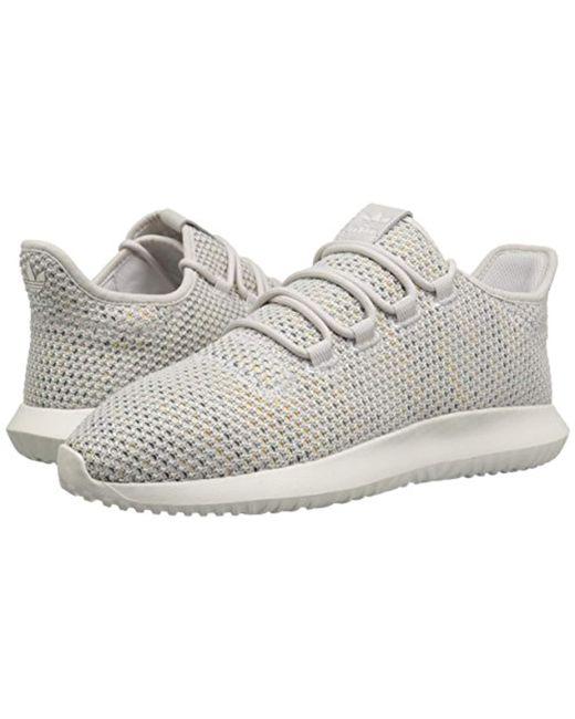 huge selection of afe67 ef966 ... Adidas Originals - Gray Tubular Shadow Ck Fashion Sneakers Running  Shoe, Greycloud White ...