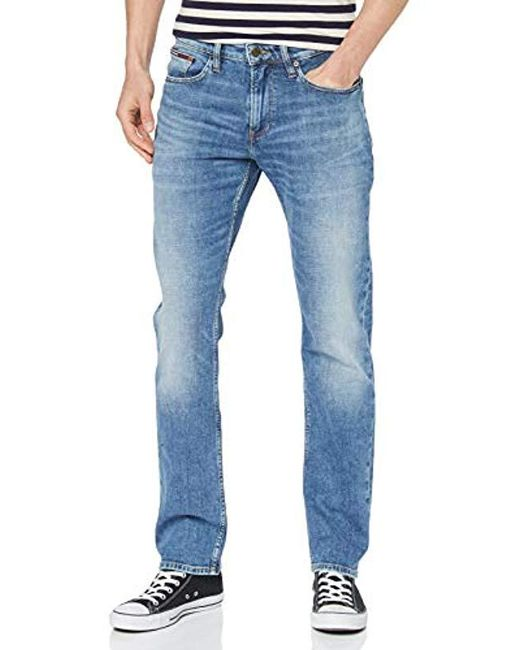 Men's Blue Original Straight Ryan Elkmb Jeans