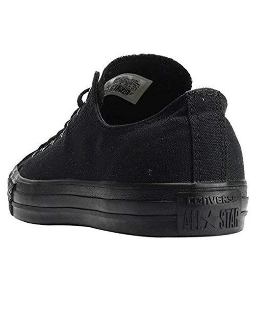 ccafff71843 ... Converse - Black S Chuck Taylor All Star Ox Canvas Trainers - Lyst ...