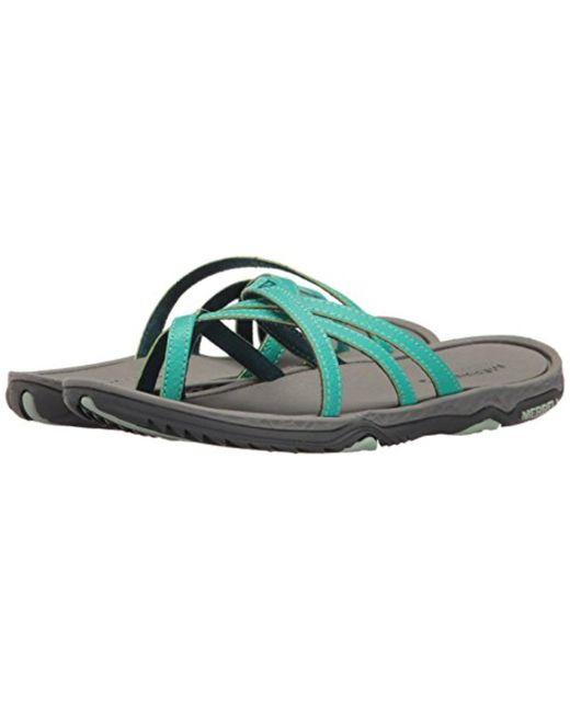 aa90931173a Lyst - Merrell Enoki 2 Flip Sandal - Save 44.44444444444444%