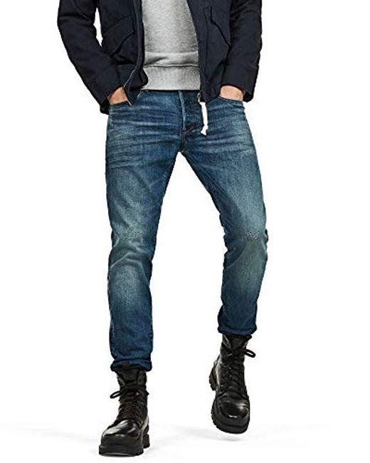4e05b6f4157c97 G-Star RAW - Blue Jeans for Men - Lyst ...