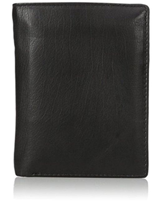 Buxton - Black Houston Rfid Blocking Deluxe Two-fold for Men - Lyst