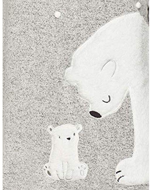 a6daef2787 Dorothy Perkins Maternity Grey Polar Bear Pyjamas in Gray - Save 35 ...