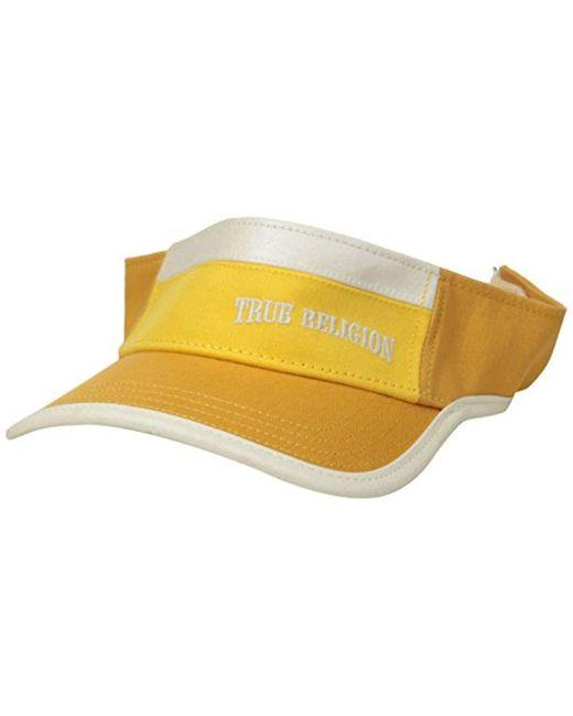 True Religion - Multicolor Colorblocked Eyeshade for Men - Lyst